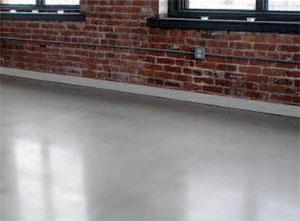 Matte floor
