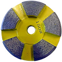 Yellow 150 grit disk