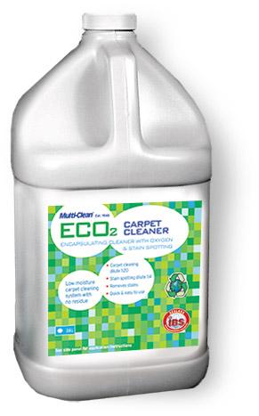 Eco2 carpet cleaner bottle
