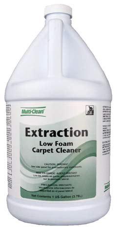 Extraction carpet cleaner bottle