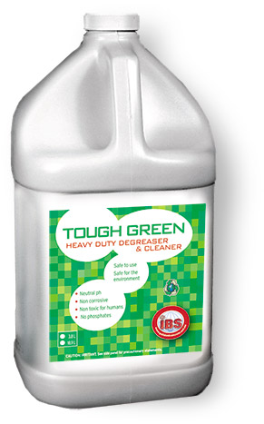 Tough Green cleaner bottle