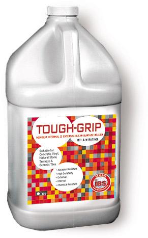 Tough-Grip non-slip sealer bottle
